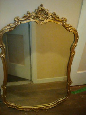Antique wooden mirror for Sale in Dundalk, MD