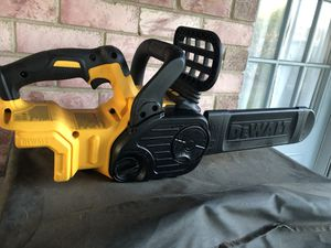 Dewalt 20volt chainsaw tool only no battery or charger for Sale in Mesquite, TX