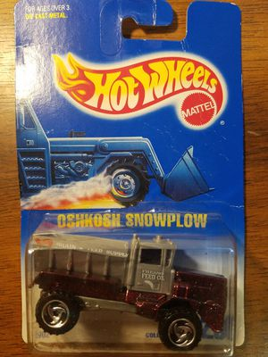Hot Wheels Oshkosh Snowplow for Sale in Newburgh, IN