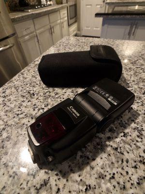Canon Speedlite 580EX II & 580EX + horse shoe cord for Sale in Las Vegas, NV
