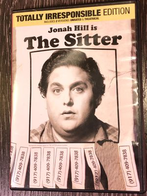The Sitter on DVD Unrated for Sale in Denver, CO