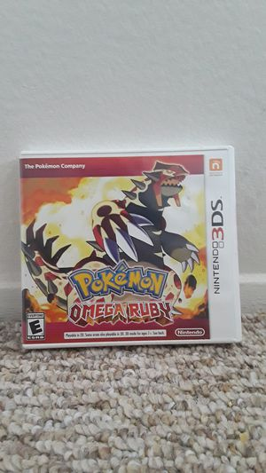Pokemon Omega Ruby - Nintendo 3DS for Sale in San Diego, CA