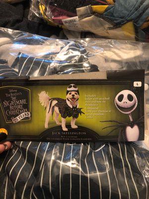 Nightmare before Christmas Jack Skellington dog costume for Sale in Montclair, CA