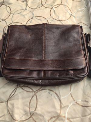 Leather messenger bag for Sale in Galt, CA