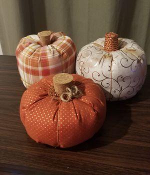 Fall Homemade Pumpkin decor for Sale in Joplin, MO