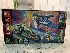 New LEGO NINJAGO Jay and Lloyd's Velocity Racers 71709 Building Kit (packs sealed) SUMMERLIN for Sale in Las Vegas, NV