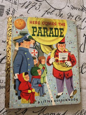 Vintage golden book here comes the parade - First edition 1951 for Sale in AZ, US