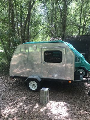 Diamond plated Micro Teardrop Camper for Sale in Maitland, FL