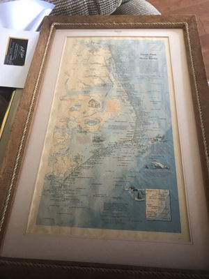 Outer banks map for Sale in Scottsville, VA
