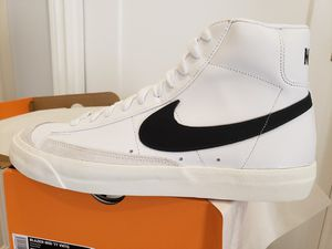 e1632a51f843 Nike Blazer Mid 77 Vintage Black White - Size 11 for Sale in View Park
