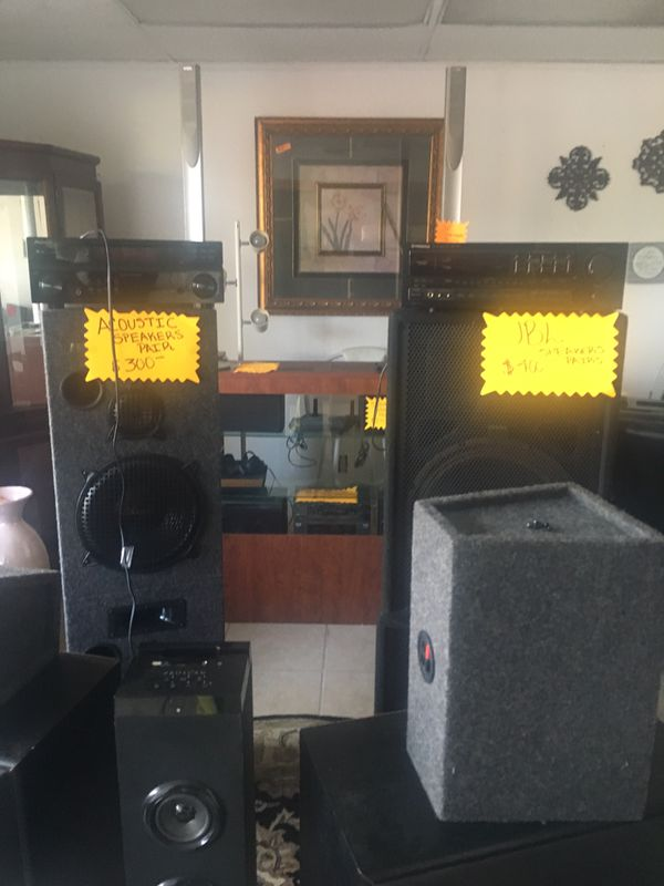 Great Speakers For Sale