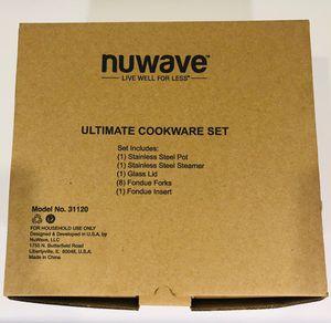 NuWave Ultimate Cookware Steamer and Fondue Set for Sale in Warren, MI