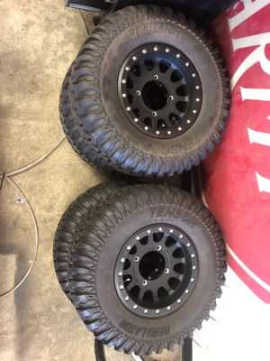 Polaris RZR wheels and tires set for Sale in Vancouver, WA
