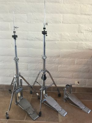 Vintage Pearl Hi Hat and Bass Drum Pedal for Sale in Cave Creek, AZ