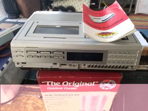 Vintage Hitachi VHS Player Recorder with Orginal Manual. $30 Pickup in Oakdale for Sale in Oakdale, CA