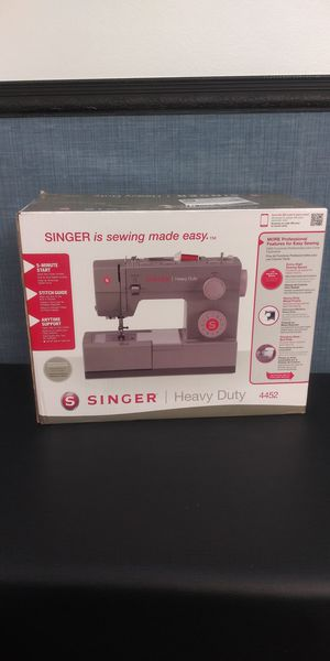 Singer 4452 Heavy Duty sewing machine for Sale in Durham, NC
