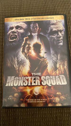 The Monster Squad two-disc set for Sale in Midlothian, VA