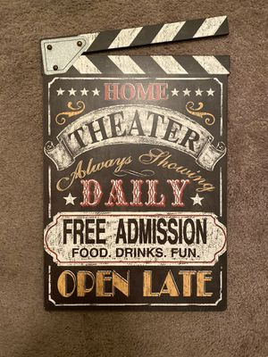 Home Theater Sign for Sale in Fresno, CA