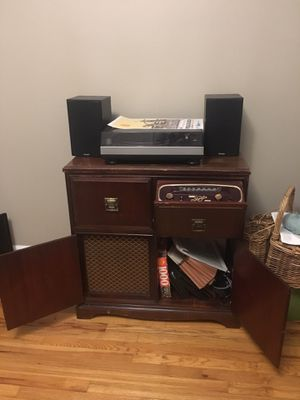 Antique Entertainment Cabinet for Sale in Portland, OR