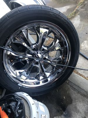 Used rims and tires for Sale in Sacramento, CA