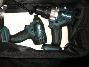 Makita 18V hammer(brushless) and impact TOOL ONLY $140 for Sale in Las Vegas, NV