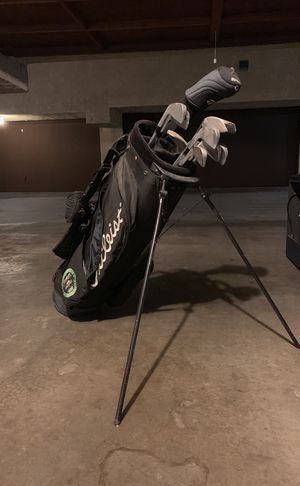 Golf clubs - Precept Tour Premium set and bag for Sale in Santa Monica, CA