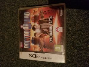 Doctor Who Evacuation Earth for Nintendo DS NEW SEALED for Sale in Ashley, OH