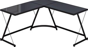 L-Shape Corner Desk Computer Gaming Desk Table, Black for Sale in Beaumont, CA
