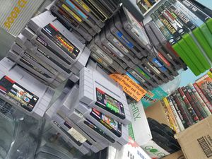Nintendo NES games super Nintendo for Sale in Hamtramck, MI