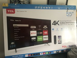 55' Inch TCL Roku TV for Sale in Wesley Chapel, FL