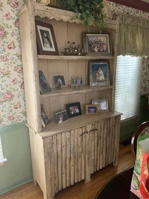 Antique rustic armoire for Sale in Bryn Mawr, PA