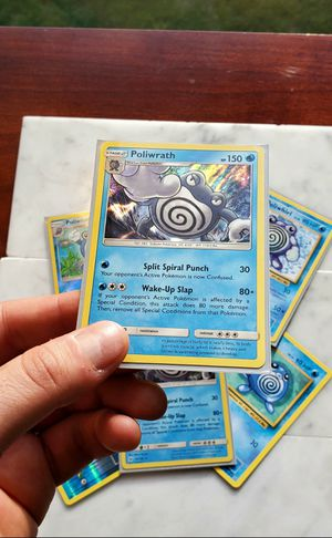 Complete Poliwrath set - Rare, Holo Pokemon Cards - Mint Condition for Sale in Gaithersburg, MD