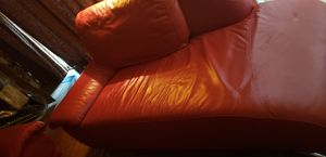 Contemporary red leather couches for Sale in Santa Clara, CA