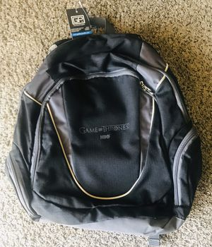 Game of Thrones promotional backpack for Sale in Glendale, AZ