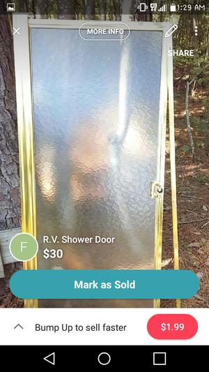 RV Shower Door for Sale in Hubert, NC