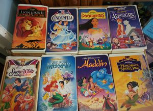 Disney VHS Movies $5 each for Sale in Garden Grove, CA