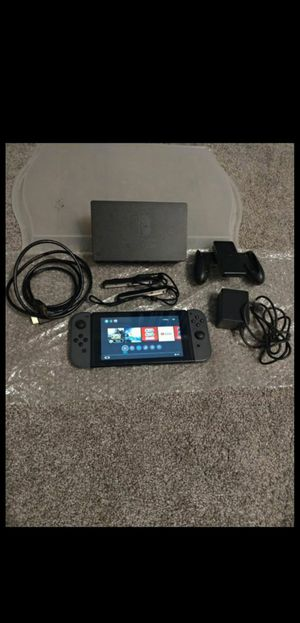 Nintendo Switch Gray System / Console with Games on the switch - Zelda / Metro Redux for Sale in Chula Vista, CA