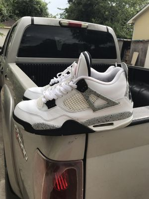 Air Jordan 4 cement 2016 size 11 for Sale in Houston, TX