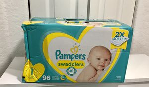 Pampers Swaddlers Size 1 for Sale in Medley, FL