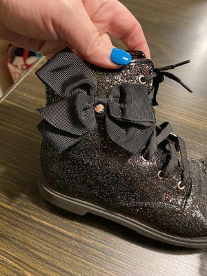 Sparkly Jojo Sewa boots w bows for Sale in Tacoma, WA