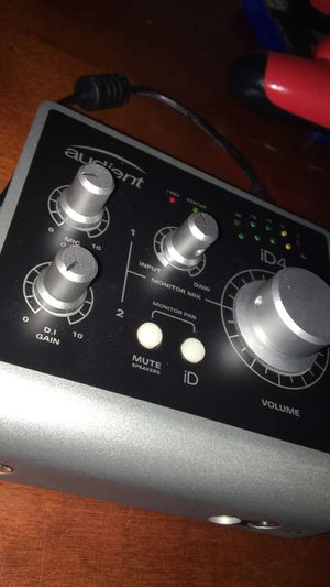 iD4 high performance audio interface for Sale in Wichita Falls, TX