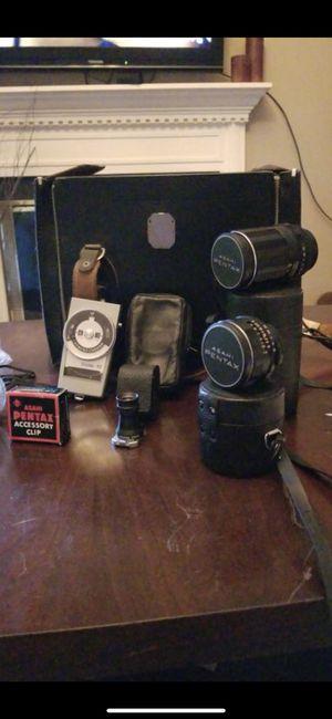 Asahi Pentax Camera Lenses & More! for Sale in Nashville, TN