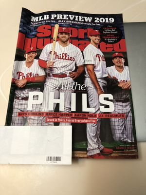 Phillies SI spring training 2019 preview for Sale in Feasterville-Trevose, PA