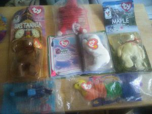 90s McDonalds collectible beanie babies for Sale in Raleigh, NC