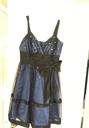 Dress - Size 7 Blue and Black for Sale in Wayne, IL