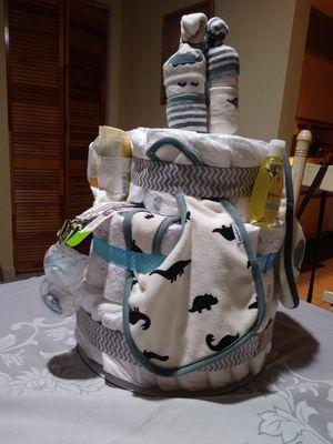 Diaper Baby Pamper cake for Sale in Miami, FL