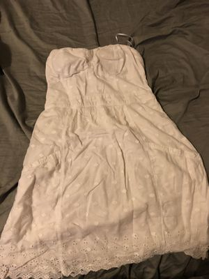 White strapless dress for Sale in Columbus, OH