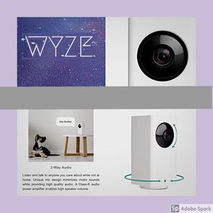 Stay secure with WYZE Battery Operated security camera for Sale in Wenatchee, WA