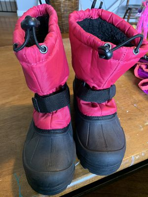 Girls snow boots size 2 for Sale in Sandy, OR