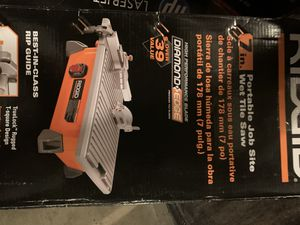 Ridgid tile saw for Sale in Richardson, TX